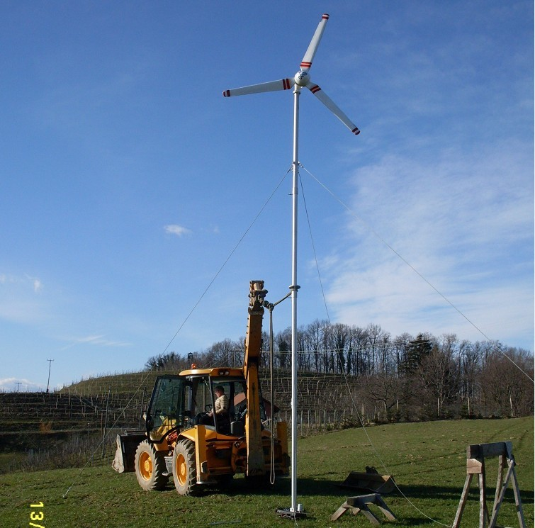 H3.1-1kw grid-tied wind generator system