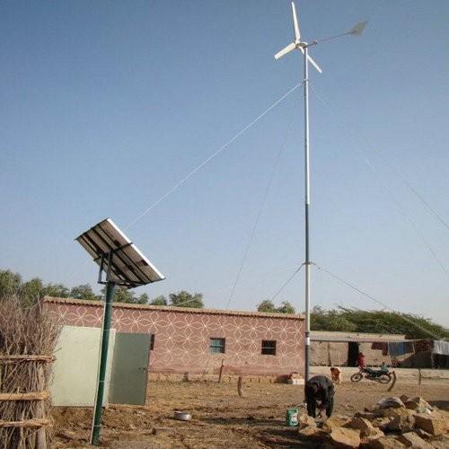 H3.1-1kw wind solar diesel hybrid system