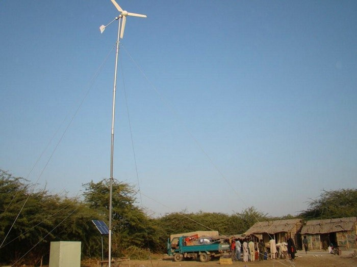 H3.1-1kw wind solar hybrid wind turbine system