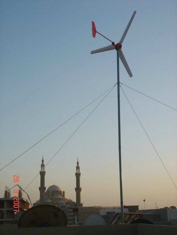 H3.8-2kw off-grid wind turbine system