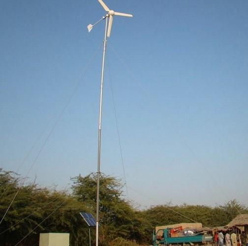 H4.6-3kw wind-solar hybrid system