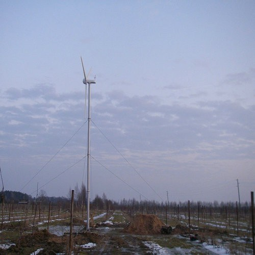 H6.4-5kw grid-tied wind generator system