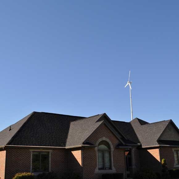 Hummer 20KW Home Wind Generator