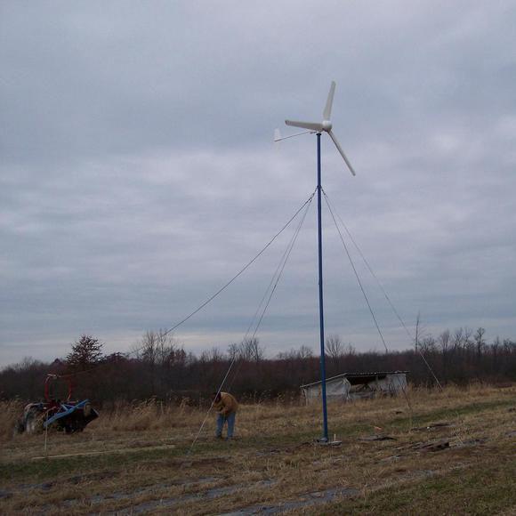 Hummer 1KW Wind Turbine