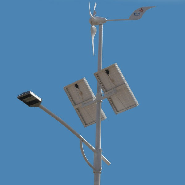 400w Wind Solar Hybrid Street Light From China