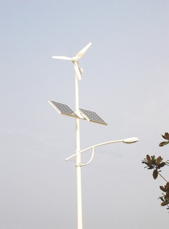 400W Wind-Solar Led Street Light