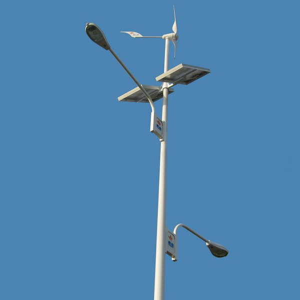 600W Wind Solar Hybrid Street Light