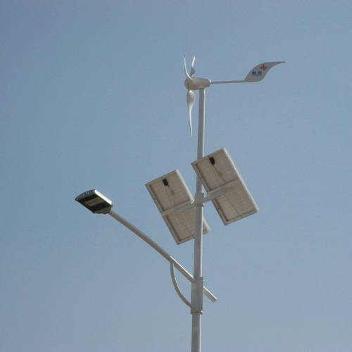 H1.25-400w wind-solar hybrid street light