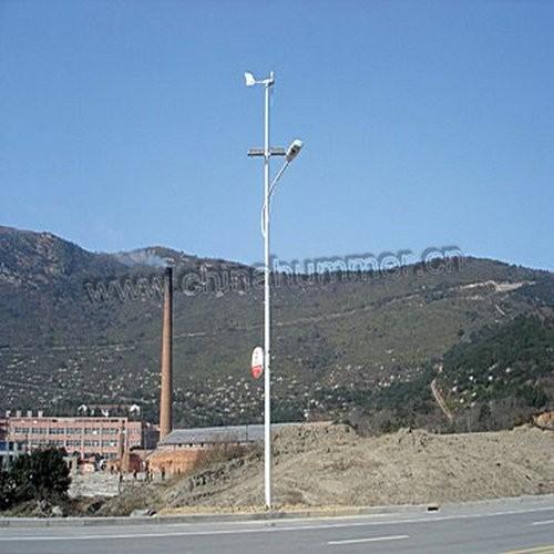 wind-solar hybrid street lamp