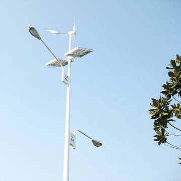 wind-solar hybrid system for city street