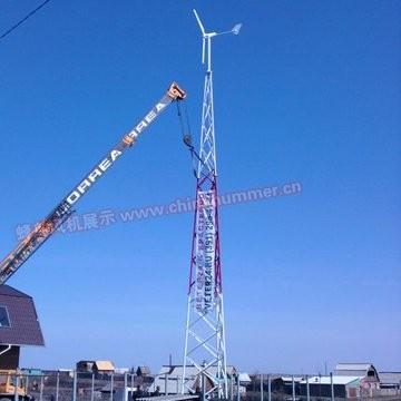 H3.1-1kw wind generator in Africa