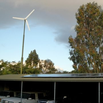 H3.8-2kw wind turbine in Indonesia