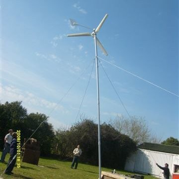 Industrial grid-tied 1kw wind generator in Brunei