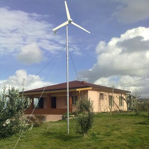 500w wind generator in Denmark